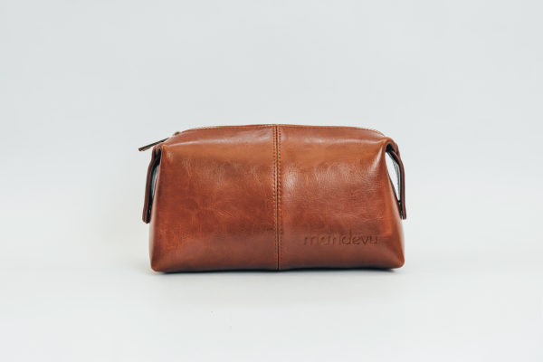 Mandevu Leather Toiletry Bag